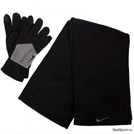 Перчатки и шарф Nike Sport Fleece Tech GlovesN.WC.30.035.XL - фото 1