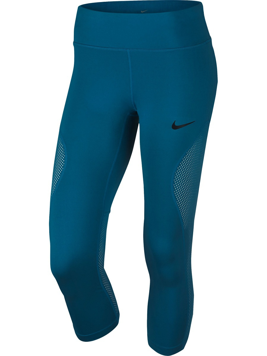 Леггинсы NikeNk Pwr Crop Racer Cool 855144-457
