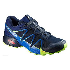 Синие кроссовки SALOMON SHOES SPEEDCROSS VARIO 2 Navy Blaze/Naut L39452400L39452400
