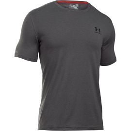 Футболка Under Armour Charged CottonLeft Chest Lockup Graphic Ss1257616-090 - фото 3