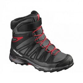 Обувь спортивная salomon SHOES X-ULTRA WINTER GTX® J ASPH BK RADI L39186700