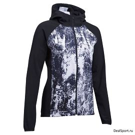 Ветровка under armour Outrun The Storm Printed Jkt-BLK