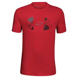 Футболка under armour Cotton Big Logo tee