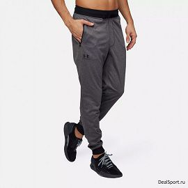 Брюки Under armour Sportstyle Joggers Cf Knit1290261-090 - фото 3