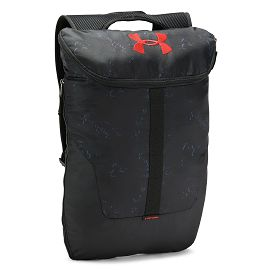 Рюкзак under armour UA Expandable Sackpack Stealth Gray  Black  Radio Red