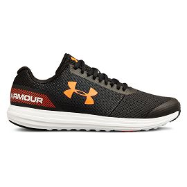 Кроссовки under armour UA BGS Surge RN Black  White  Ares Red