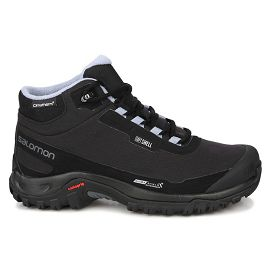 Черные ботинки Salomon SHOES SHELTER CS WP W Bk/Bk/Eggshell B L40473100L40473100