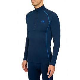 Термобелье the north face M WARM L/S ZIP NECK COSMIC BLUE