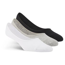 Носки reebok SE U INVISIBLE SOCK 3P medium grey heather,white,black