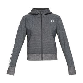 Джемпер under armour Ottoman Fleece FZ-WM Graphic Charcoal Light Heather / White / White