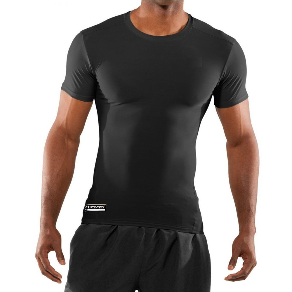 Футболка компресионная Under armour Tactical Heatgear ® Compression Ss 1216007-001