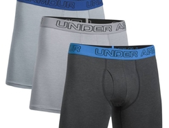 Боксеры under armour Charged Cotton 6inch 3 Pk