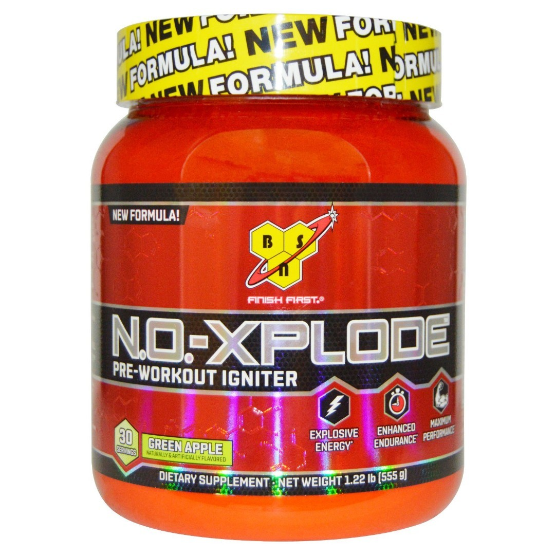 BSN NoXplode 3.3 555 г Green Apple sr2188
