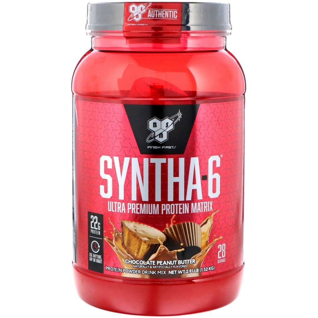 BSN Syntha-6 1320 г Chocolate Peanut Butter sr2193