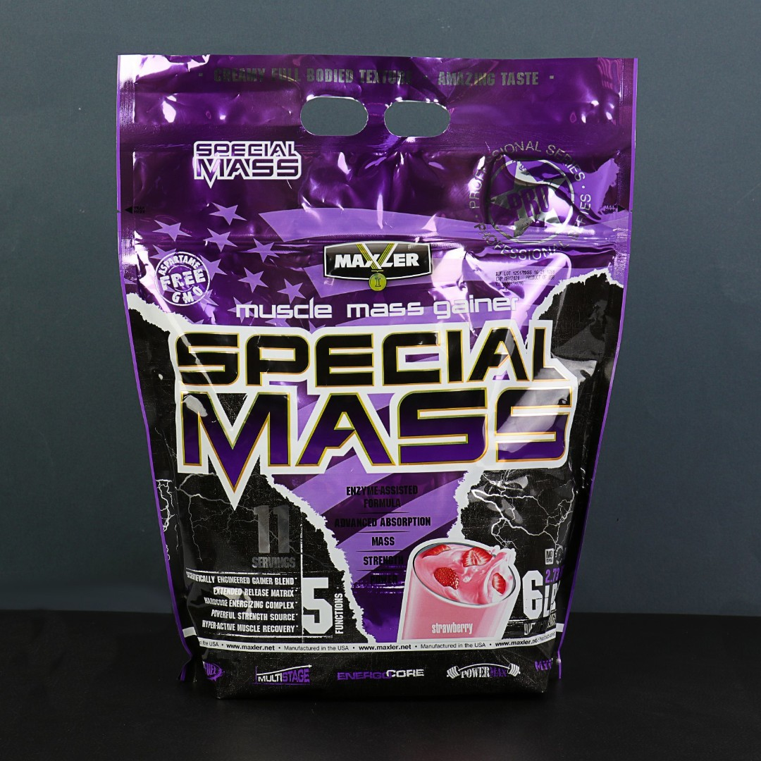 Гейнер Maxler Special Mass Gainer 5430  Strawberry sr4845