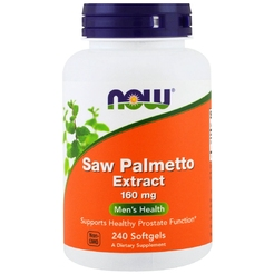 Saw Palmetto 160 mg 240 softgels