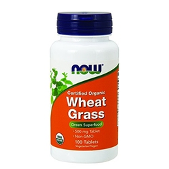 Wheat Grass 500 mg Organic 100 tabs