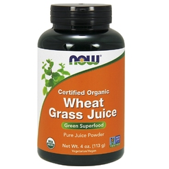 Wheat Grass Juice Powder Organic 4 oz