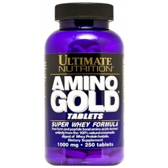 Ultimate Nutrition Amino Gold (1000 mg) 250 табsr10629 - фото 1