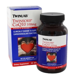 Twinsorb CoQ10 100  mg 45 softgels