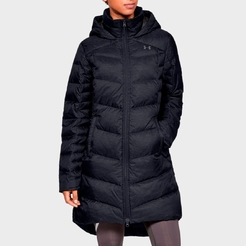 Парка under armour Down Sweater Parka- WARM Black   Charcoal
