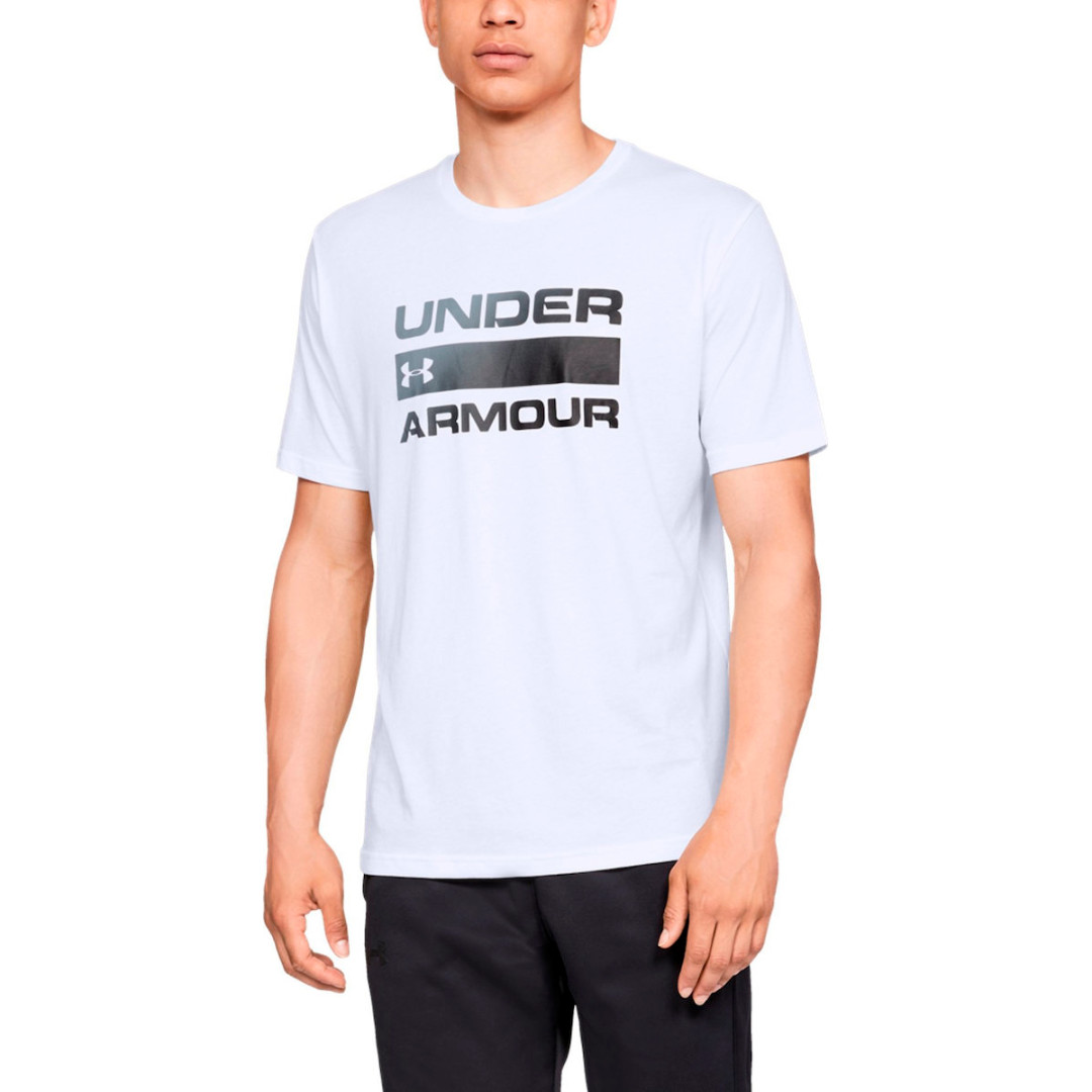 Футболка Under Armour Team Issue Wordmark Graphic Charged Cotton 1329582-100