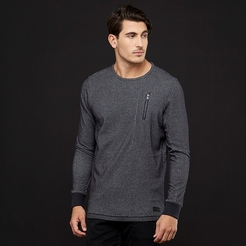 Джемпер under armour UA Pursuit Block Fleece Crew-BLK BLK STY