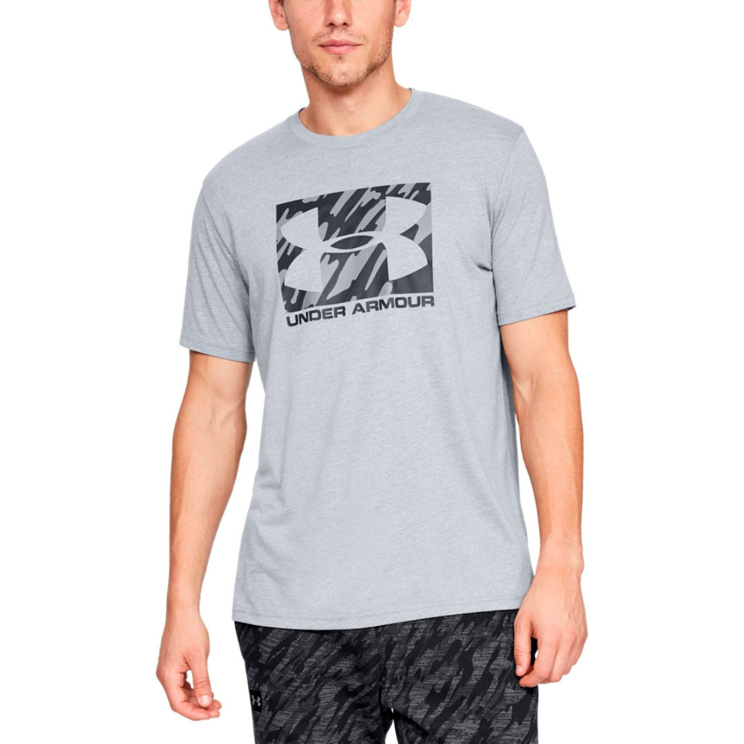 Футболка Under Armour Boxed Sportstyle Graphic Charged Cotton 1329581-036