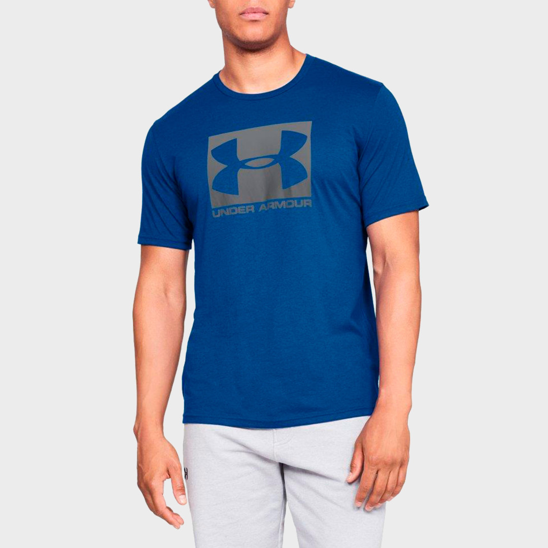 Футболка Under Armour Boxed Sportstyle Graphic Charged Cotton 1329581-400