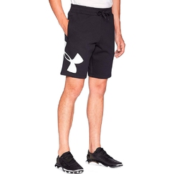 Шорты under armour RIVAL FLEECE LOGO SWEATSHORT Black   White