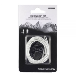 Шнурки для обуви salomon SHOES QUICKLACE KIT NATURAL L32667300