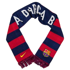 Шарф Nike FCB SUPPORTER SCARF OSFM LOYAL BLUE STORMRED VIBRANT YELLOW