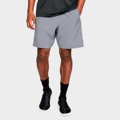 Шорты under armour Woven Graphic Short Steel   Black