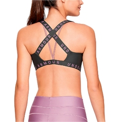 Топ Under armour Wordmark Strappy Sportlette Light Support1325613-010 - фото 2