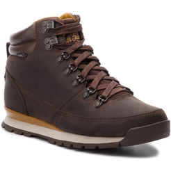 Кроссовки the north face M B2B REDUX LEATHER CHCLTBN/GOLDNBN