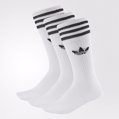 Носки взр. adidas SOLID CREW SOCK WHITE/BLACK