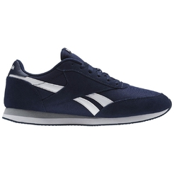 Кроссовки reebok REEBOK ROYAL CL JOG COLL NAVY/WHITE/GREY