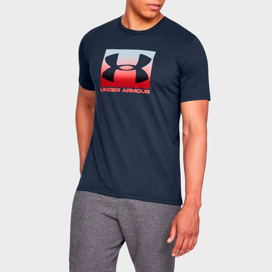 Футболка Under Armour Boxed Sportstyle Graphic Charged Cotton 1329581-408