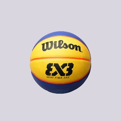 Мяч баскетбольный wilson FIBA 3X3 MINI RUBBER BASKETBALL WTB1733XB
