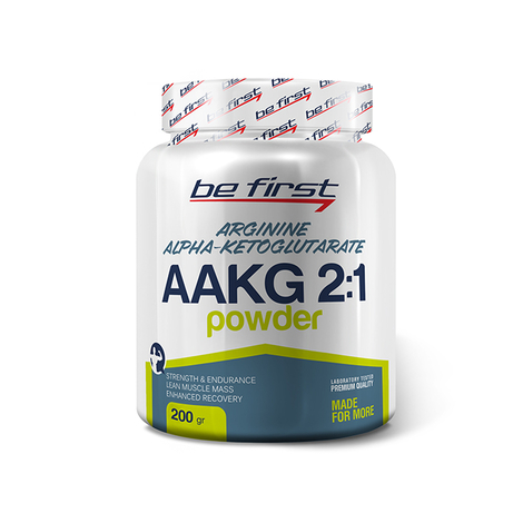 Be First AAKG powder 200 г малина sr879