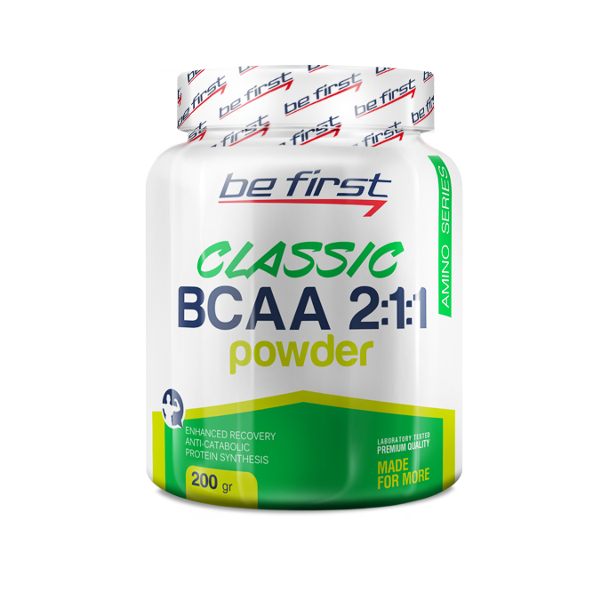 Be First BCAA 2:1:1 CLASSIC powder 200 г мята-лайм sr731