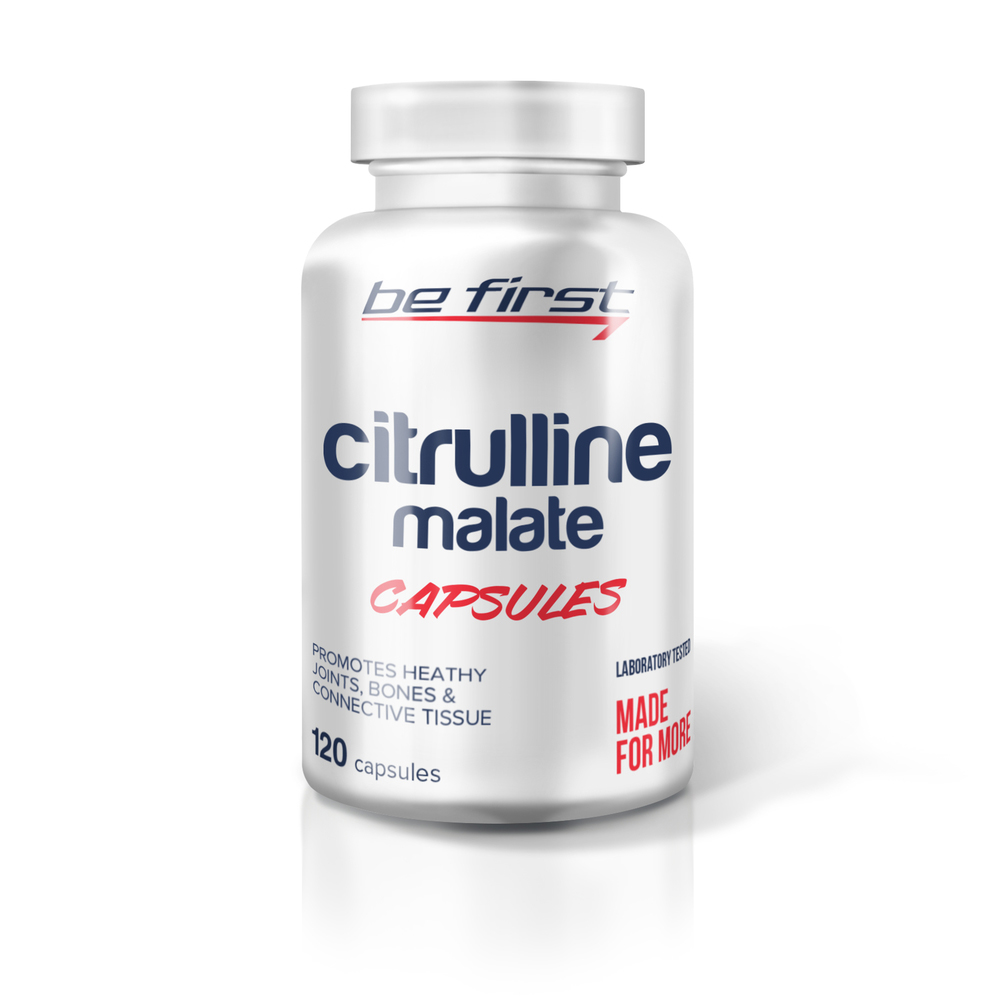 Be First Citrulline malate 120 капс sr925