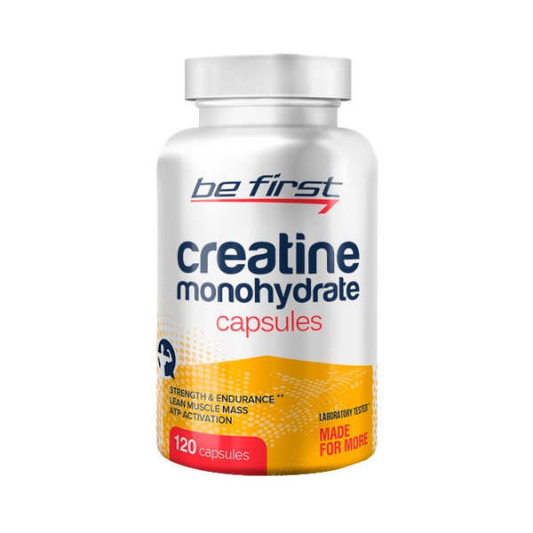 Be First Creatine Monohydrate 120 капс sr761