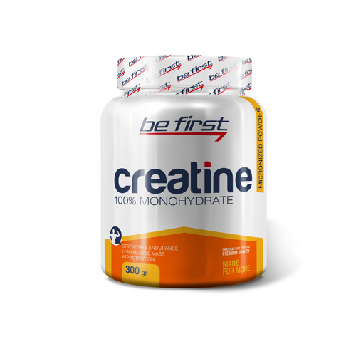 Be First Creatine powder 300 г яблоко sr755