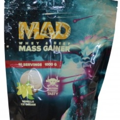 Гейнер MAD MASS GAINER WHEY  BEEF 1000  sr26827 - фото 2
