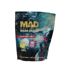 MAD MASS GAINER WHEY & BEEF 1000 г Шоколад