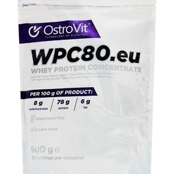 Ostrovit WPC80 900 г Peanut butter