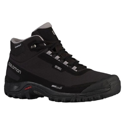 Ботинки salomon SHOES SHELTER CS WP Black Bk Frost Gray L40472900