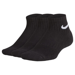 Носки nike Kids Nike Performance Cushioned Quarter Training Socks (3 Pair) SX6844-010