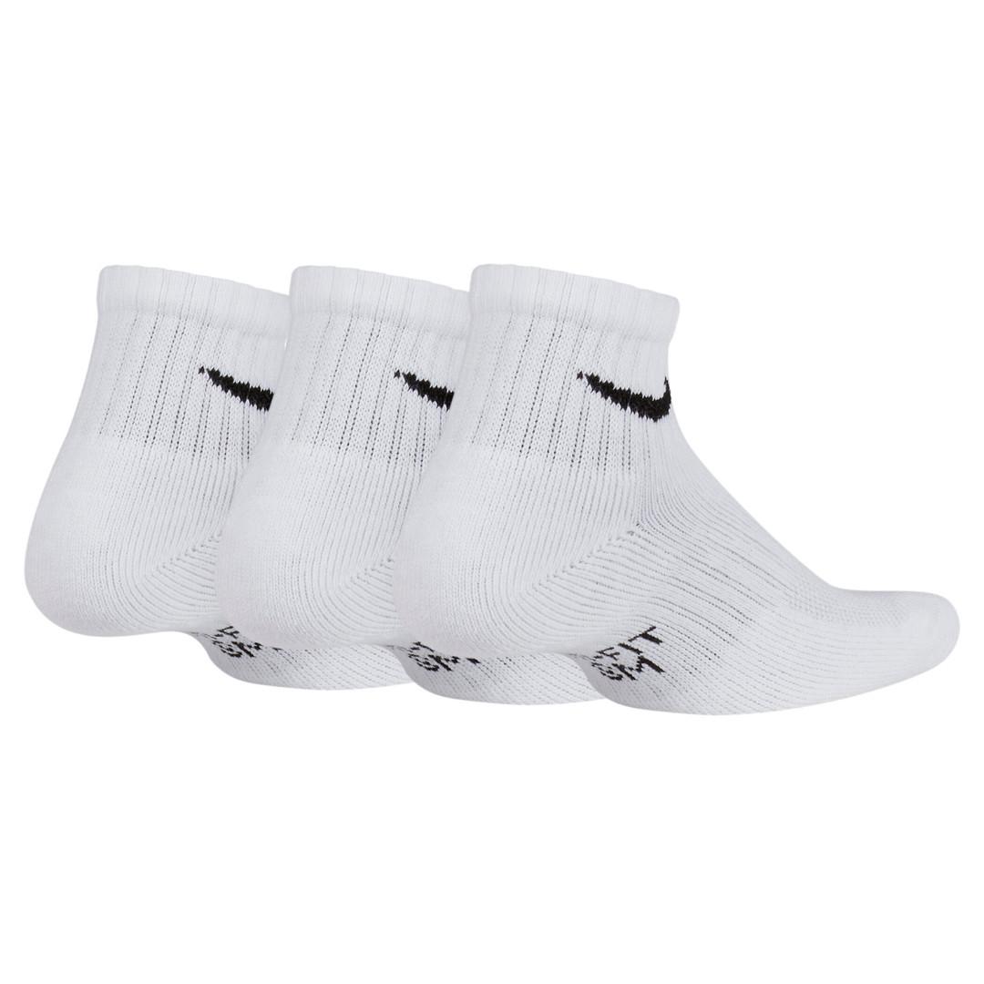 db73ba9e Носки nike Kids Nike Performance Cushioned Quarter Training Socks (3 Pair)  SX6844-100 купить за 672 руб в интернет-магазин dealsport.ru